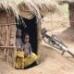 CHILDREN IN A DIPSPLACED CAMP-UGANDA